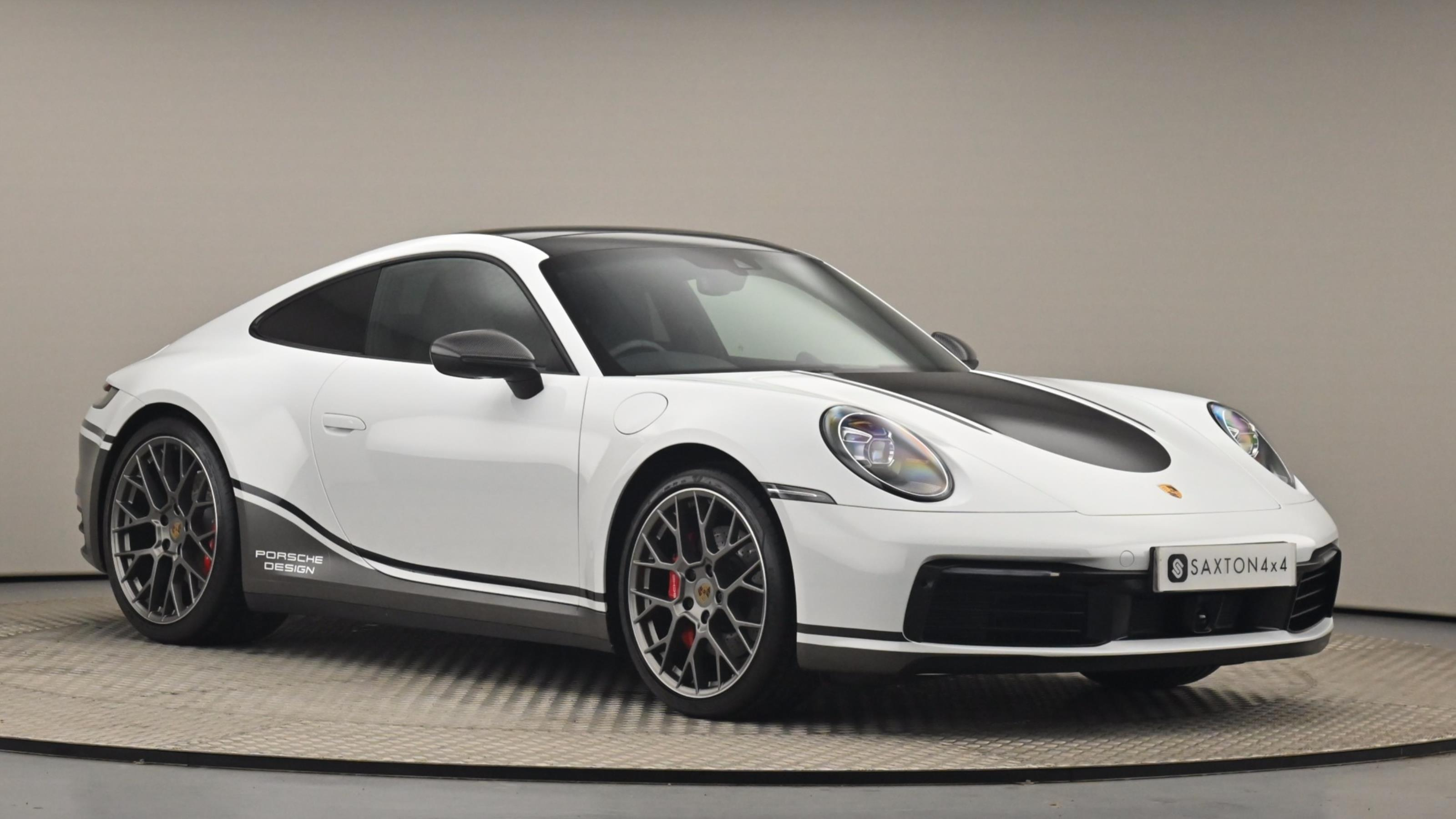 Used 2019 Porsche 911 S 2dr PDK WHITE at Saxton4x4