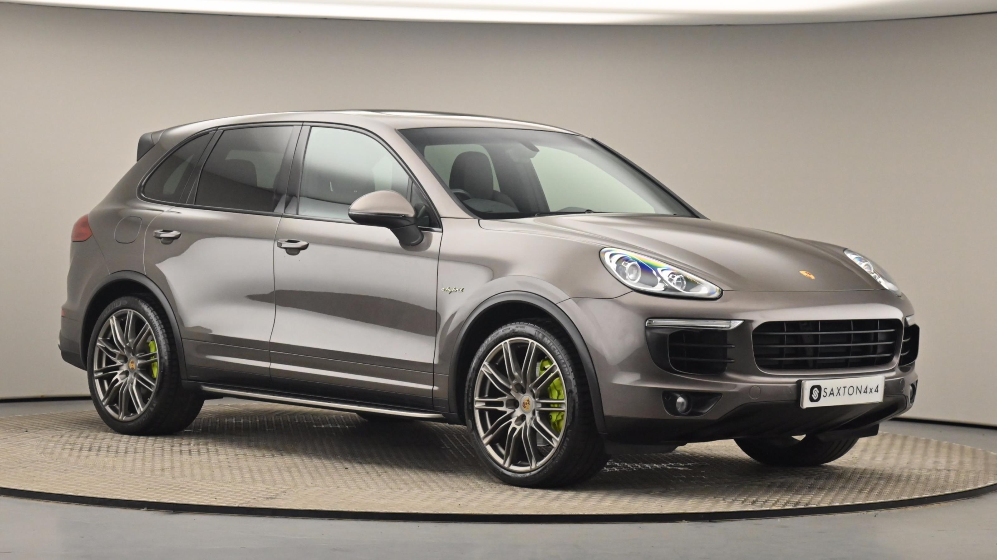 Used 2015 Porsche CAYENNE S E-Hybrid 5dr Tiptronic S BROWN at Saxton4x4