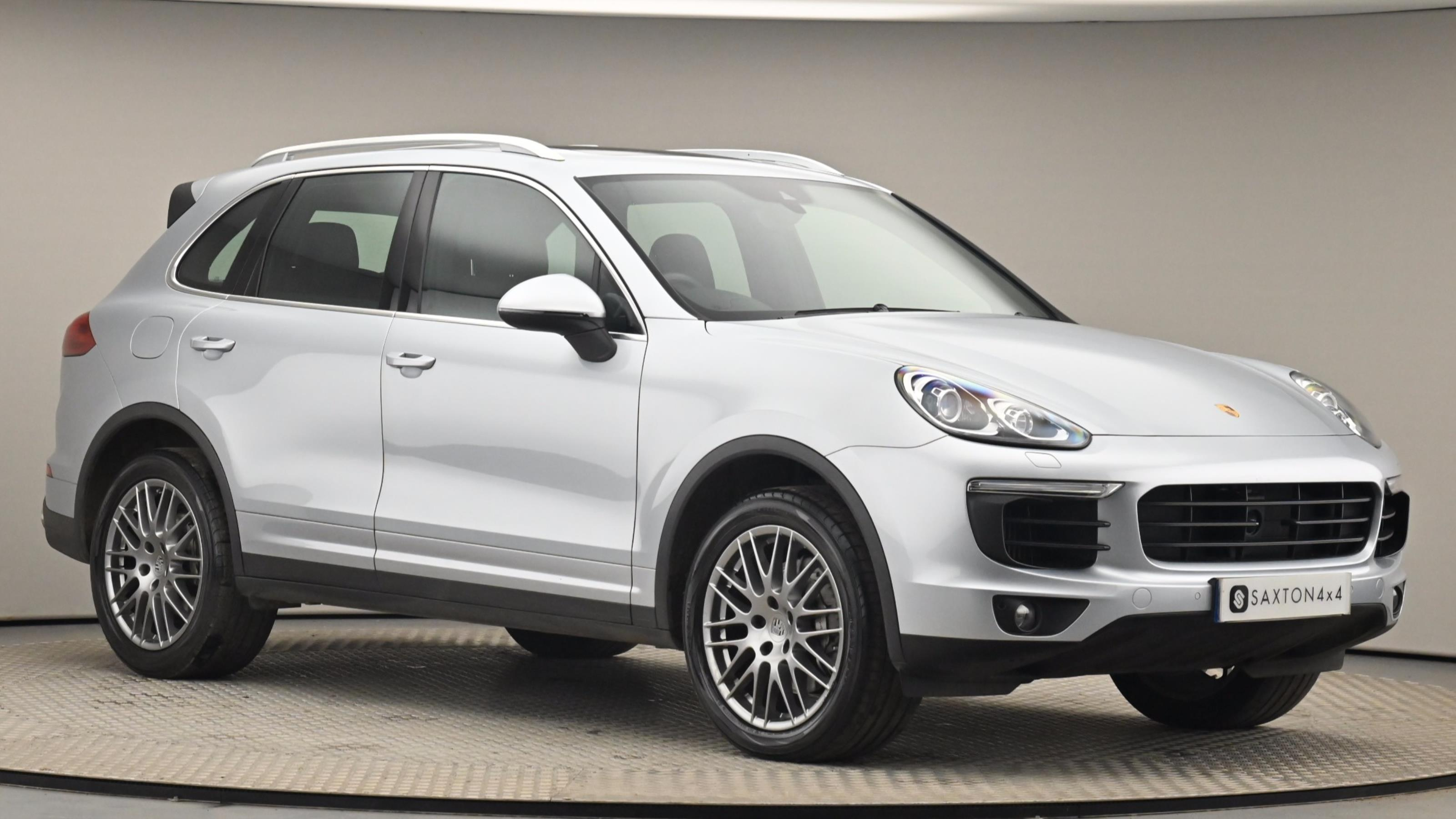 Used 2015 Porsche CAYENNE S 5dr Tiptronic S SILVER at Saxton4x4