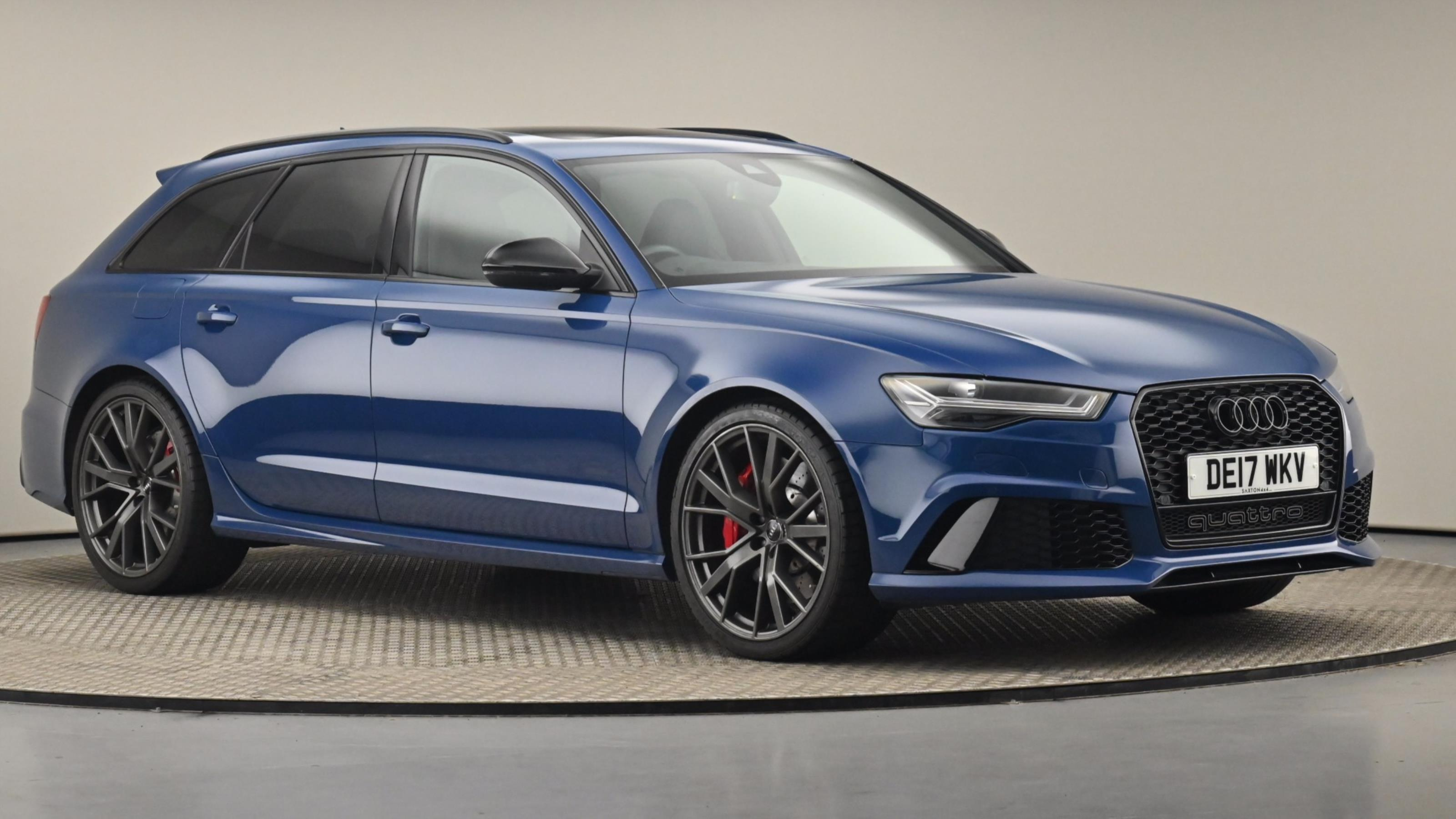 Used 2017 Audi RS6 4.0T FSI Quattro RS 6 Performance 5dr Tip Auto BLUE at Saxton4x4