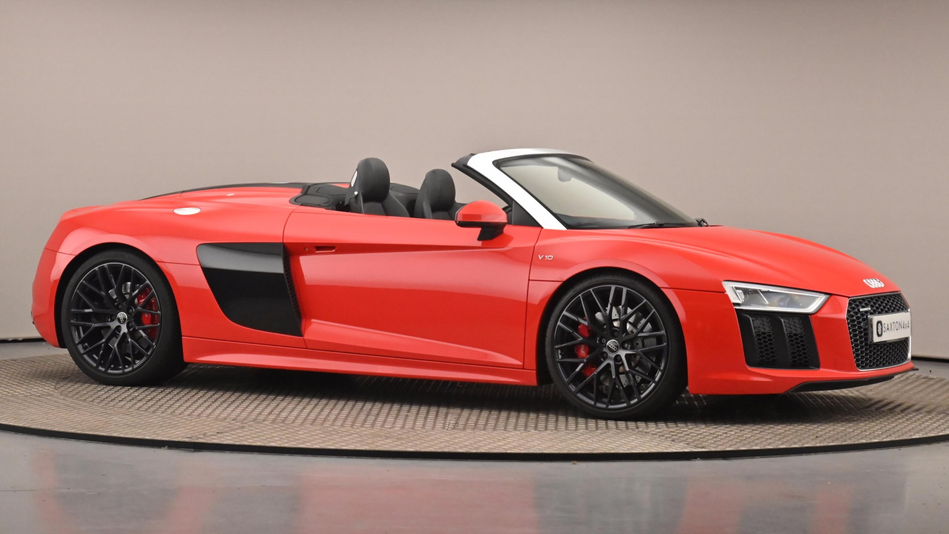 Used 2016 Audi R8 5.2 FSI V10 Quattro 2dr S Tronic Red at Saxton4x4
