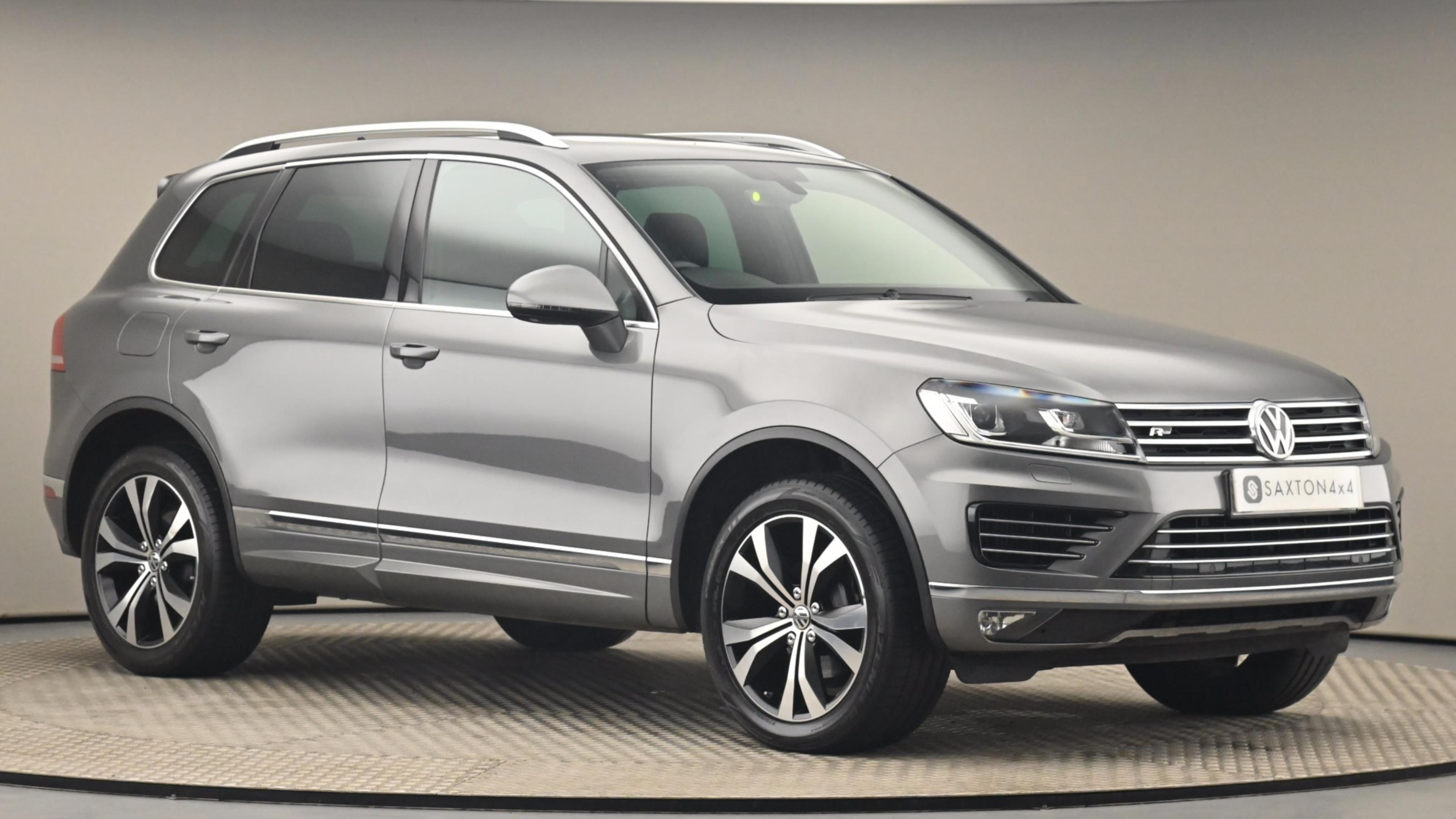 Used 2016 Volkswagen TOUAREG 3.0 V6 TDI BlueMotion Tech 262 R Line 5dr Tip Auto GREY at Saxton4x4