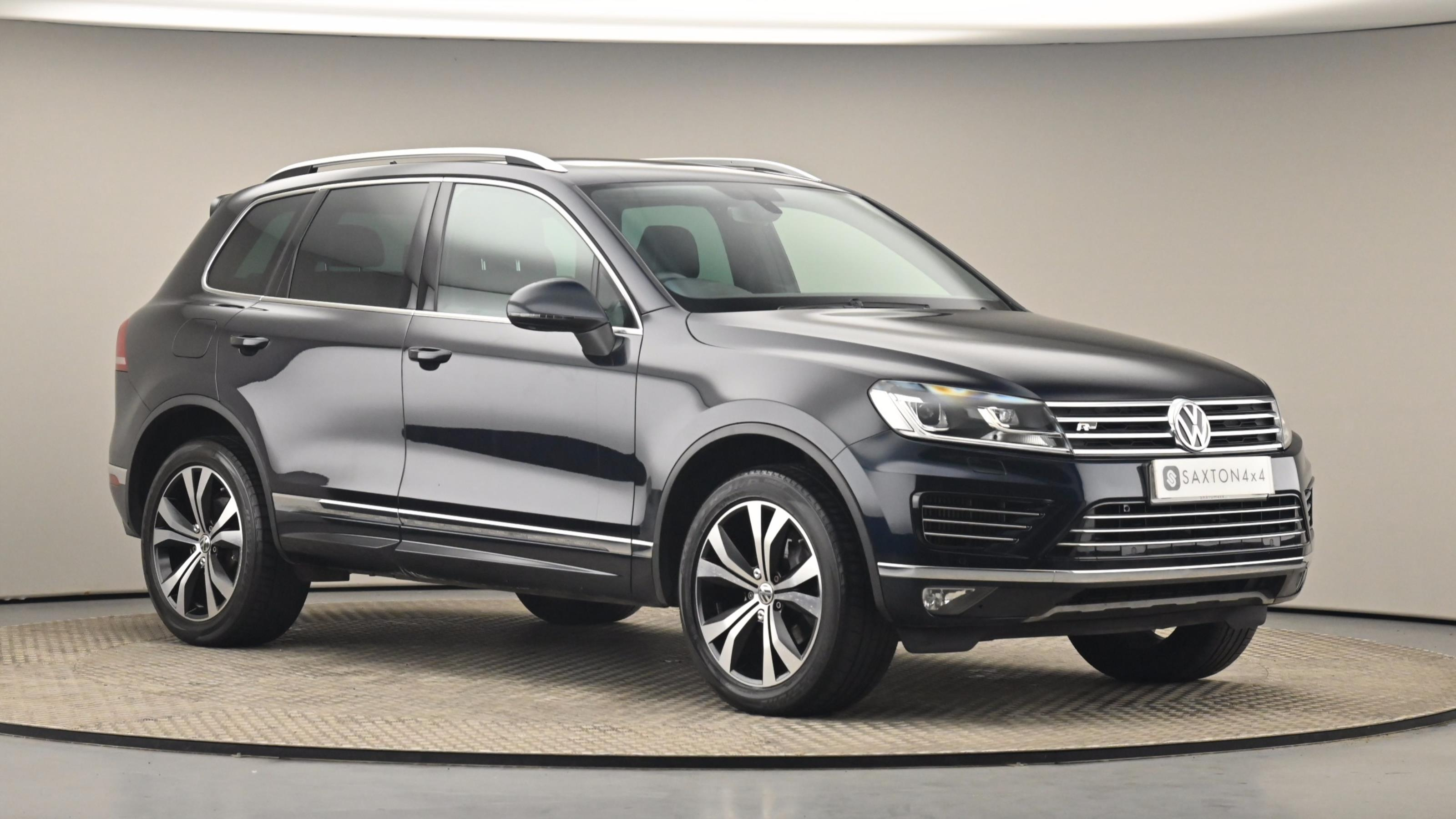 Used 2017 Volkswagen TOUAREG 3.0 V6 TDI BlueMotion Tech 262 R Line 5dr Tip Auto BLUE at Saxton4x4
