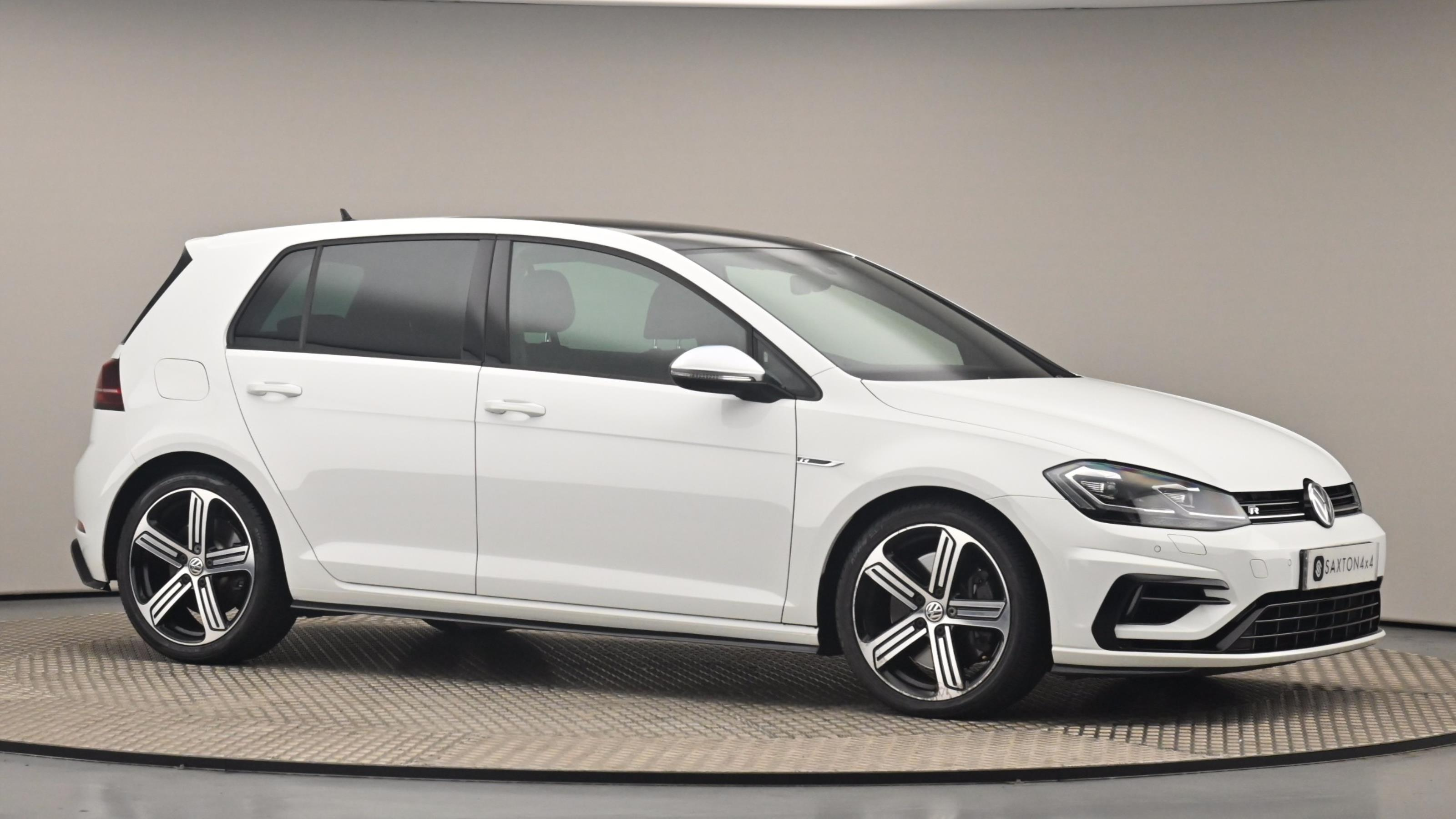 Used 2018 Volkswagen GOLF 2.0 TSI 310 R 5dr 4MOTION DSG White at Saxton4x4