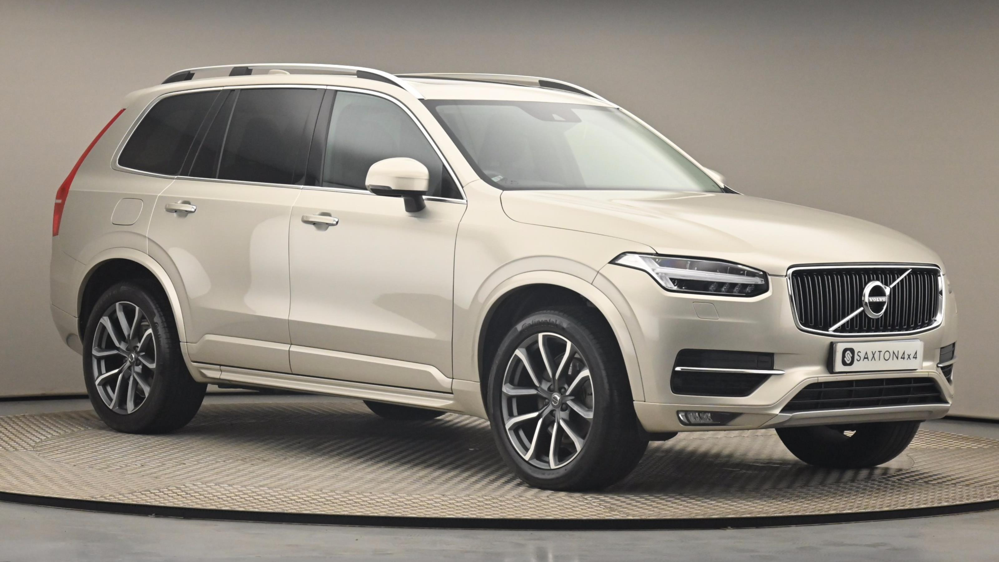 Used 2016 Volvo XC90 2.0 D5 PowerPulse Momentum 5dr AWD Geartronic GOLD at Saxton4x4
