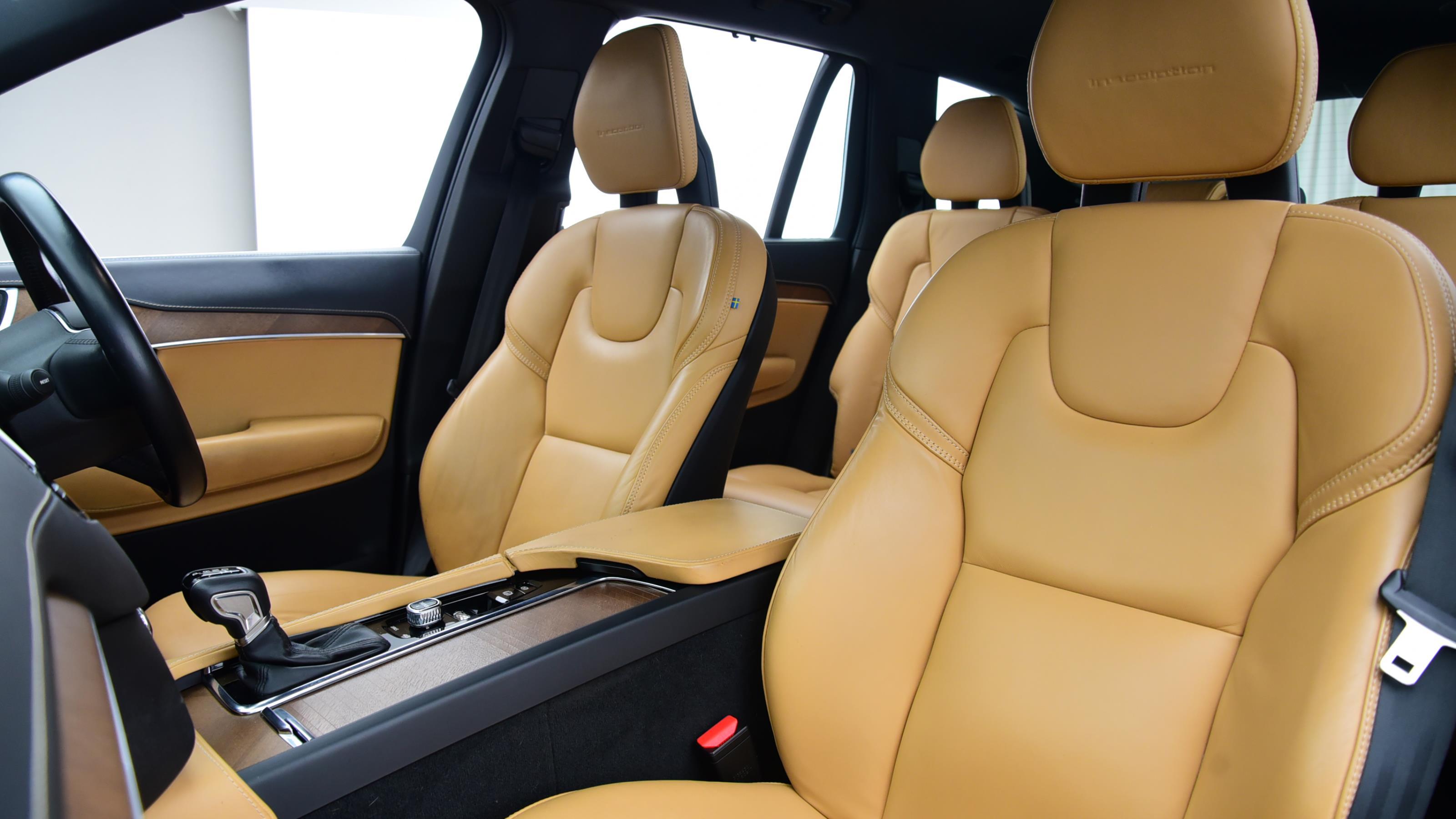 Used 2016 Volvo XC90 2.0 D5 PowerPulse Inscription 5dr AWD Geartronic BLACK at Saxton4x4