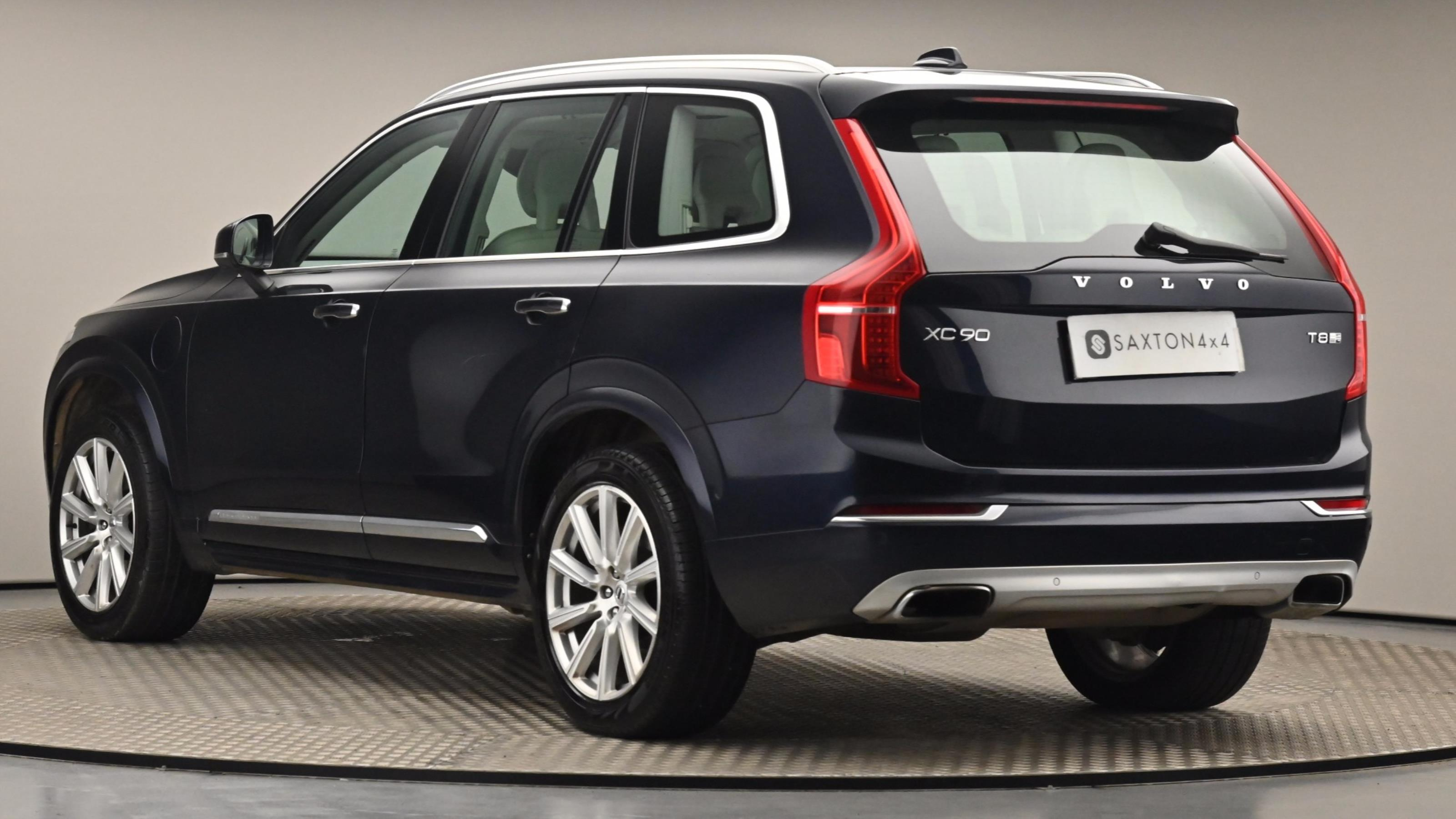 Used 2017 Volvo XC90 2.0 T8 Hybrid Inscription 5dr Geartronic BLUE at Saxton4x4