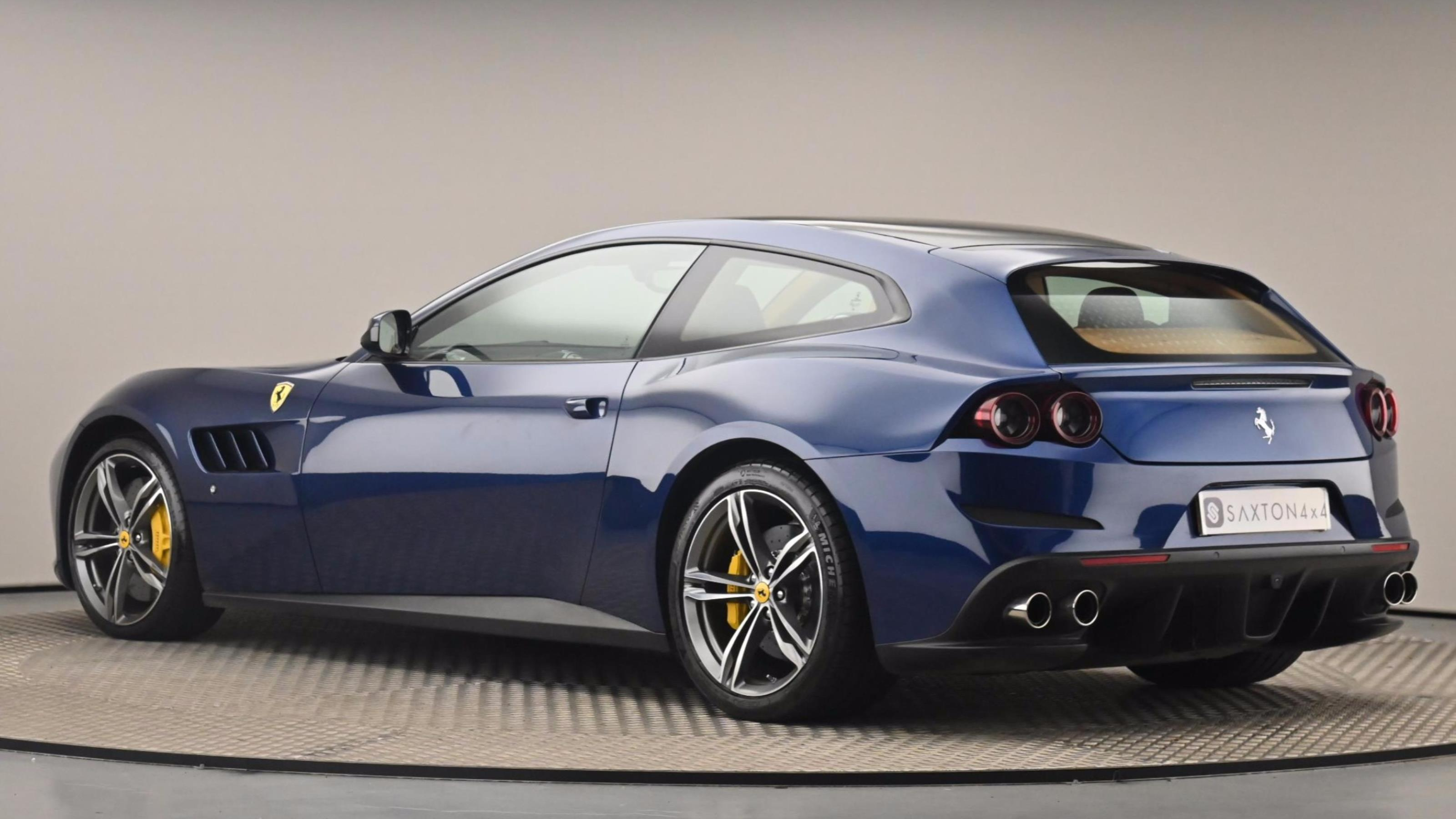 Used 2017 Ferrari GTC4 LUSSO 2dr Auto Blue at Saxton4x4