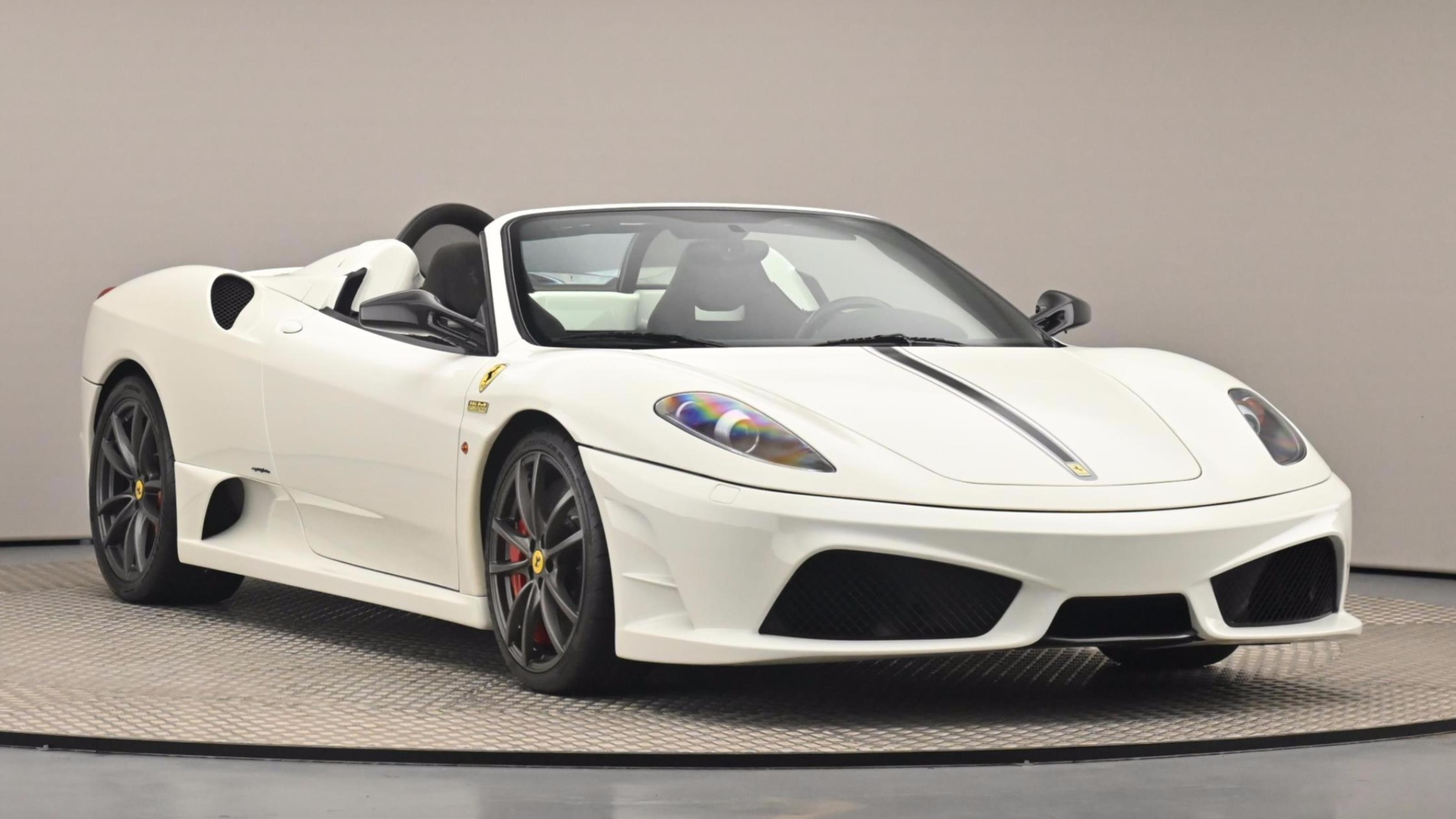 Used 2009 Ferrari F430 SCUDERIA SPIDER 16M White at Saxton4x4